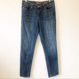 Seven7 Blue Denim Skinny Jeans